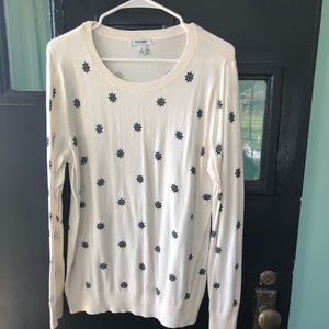 Cream Large sweater
